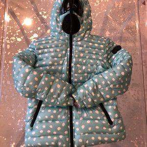 Girl's RI size 12 reversible down puffy jacket